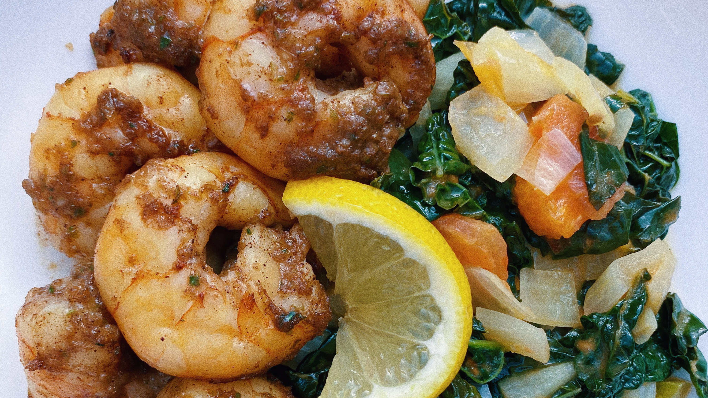 jamaican jerk shrimp featured